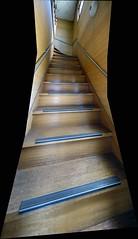 Going Up (sjrankin) Tags: panorama house japan stairs hokkaido edited steep yubari 13may2016