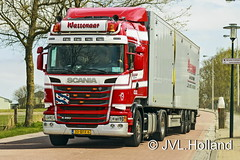 Scania R450  NL  'Wassenaar Berlikum'  160422-191-C4 JVL.Holland (JVL.Holland John & Vera) Tags: holland netherlands truck canon europe transport nederland nl groningen vervoer jvlholland scaniar450 wassenaarberlikum
