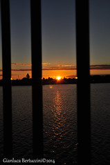 DSC_0448 (bertu89) Tags: sunset landscape photography photo nikon tramonto australia prison adelaide southaustralia paesaggio 18105 2014 portadelaide d5000 workingholidayvisa bertu89