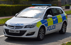 KS64LRN (Cobalt271) Tags: proud police northumbria vehicle to 16 astra protect vauxhall response livery cdti ks64lrn