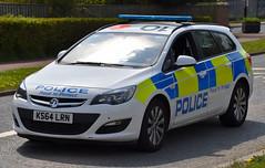 KS64LRN (Cobalt271) Tags: proud police northumbria vehicle to 16 astra protect vauxhall response livery cdti ks64lrn