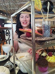 Sarah Westwood has Afternoon Tea at the Park Lane Hilton, London (sarah westwood) Tags: park sarah high tea hilton lane westwood