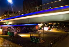 Skatetime (MF-otografie) Tags: city urban storm rain night reflections lights frankfurt