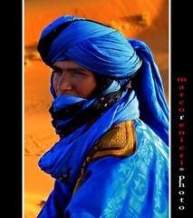Uomo blu  (Tuareg) (marcorenieri) Tags: africa tenda deserto tuareg arabo uomoblu