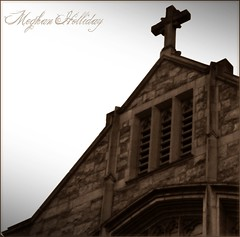 1295437040 (Meghan Laverty) Tags: old brick church rock stone vintage cross cathedral medievel medeivel