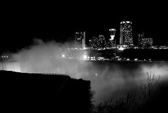 Niagara Falls at Night (D.J. De La Vega) Tags: new leica york usa fall water night niagara falls x1