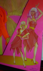 Jem the  holograms up & rockin fashions flip side hasbro (super.star.76) Tags: new fashion side flip blister shana jem roxy aja jerrica 1985 hasbro pizzazz benton stormer holograms kimer