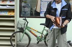 TS-TH009 World Bank (World Bank Photo Collection) Tags: bicycle bag thailand hiv bangkok health worldbank medication eastasia