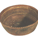 "<b>Large Round Dark Colored Bowl</b><br/> ""Large Round Dark Colored Bowl""  Earthenware, n.d. (Pre-Columbian) LFAC #724<a href=""http://farm8.static.flickr.com/7031/6466101927_126122796c_o.jpg"" title=""High res"">∝</a>"