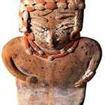 "<b>Slant-Eyed Figure</b><br/> ""Slant-Eyed Figure"" Ceramics, 300 BCE - 200 CE LFAC #918<a href=""http://farm8.static.flickr.com/7031/6466198245_5310d61baf_o.jpg"" title=""High res"">∝</a>"