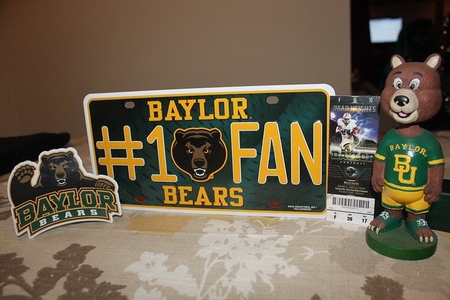 Just giving my props to Baylor University and their great 2011 football season