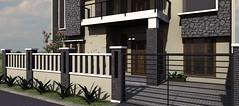Desain rumah modern minimalis di daerah Rawamangun0 (rumahdesain2000) Tags: jakarta minimalis elegan mushola batualam preliminarydesign rumahibadah 2lantai projectlists