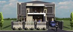 Desain rumah modern minimalis di daerah Rawamangun7 (rumahdesain2000) Tags: jakarta minimalis elegan mushola batualam preliminarydesign rumahibadah 2lantai projectlists