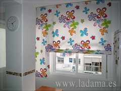 "Cortinas para Cocina, Visillos y Estores con tejidos coloridos y resistentes • <a style=""font-size:0.8em;"" href=""http://www.flickr.com/photos/67662386@N08/6476380051/"" target=""_blank"">View on Flickr</a>"