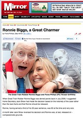 Daily Mirror (Ronnie Biggs The Album) Tags: ronnie biggs greattrainrobbery oddmanout ronniebiggs ronaldbiggs