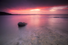 The calm after the storm (Stuart Stevenson) Tags: uk longexposure light sea rock photography scotland intense afterthestorm wideangle calm colourful wintersunrise crail surise clydevalley canon1740 eastneuk eastfife thanksforviewing transientlight canon5dmkii roomebay stuartstevenson stuartstevenson