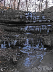 Dripping Falls (fouldsy) Tags: cold ice frozen waterfall hiking stlouis missouri icicles countypark crevecoeur drippingfalls