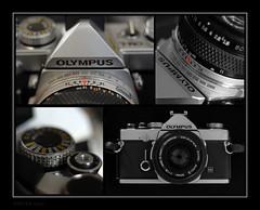 OM1-n (peterphotographic) Tags: film 35mm nikon olympus porn filmcamera d200 om1 foursome cameraporn om1n om1x4wm