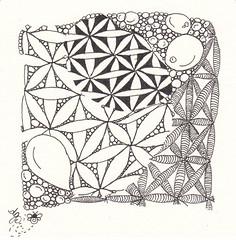 Fife Challenge (Bee Zen) Tags: tangles dgj zentangle