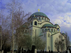 The Cathedral of Saint Sava (kontinova2) Tags: building saint temple cityscape niceshot belgrade sava mygearandme mygearandmepremium aboveandbeyondlevel1