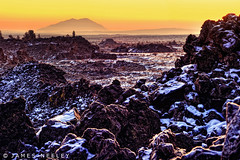 Jurassic Sunrise (James Neeley) Tags: sunrise landscape idaho hdr cratersofthemoon lavaflow 5xp jamesneeley flickr23