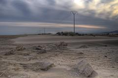 Are friends electric? (christian&alicia) Tags: electric del landscape sand nikon desert natural sigma delta catalonia catalunya 1020 parc hdr platja ebre catalogne d90 montsia trabucador sorrra christianalicia
