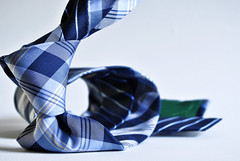 Hilfiger Blue Plaid Necktie