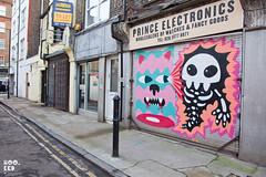 Malarky & Ronzo (Hookedblog) Tags: streetart london graffiti unitedkingdom shutters eastlondon hookedblog markrigney