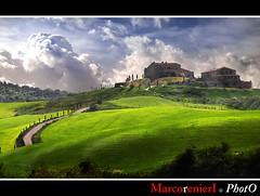 Colline in fiore (tuscany) (marcorenieri) Tags: panorama primavera campagna tuscany marco toscana colori paesaggio gambassiterme colorphotoaward marcorenieri