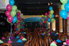 Fun Balloons! (Monday Morning Flower and Balloon Co) Tags: pink flowers wedding roses party flower floral rose dinner newjersey mitzvah event reception planning delivery florist bouquet centerpiece november282011