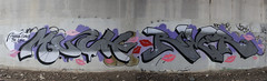 MUCH RIVER (Reckless Artist) Tags: bridge west art minnesota st metal wall train river paul photography graffiti photo midwest paint flickr artist champs cities minneapolis twin spray photograph much graff hm heavy mid inc incorporated mucho reckless tci illest
