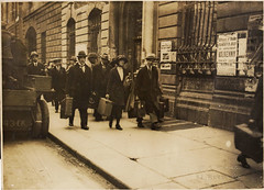 Escape (National Library of Ireland on The Commons) Tags: 1920s ireland dublin guests wednesday july luggage 1922 5th oconnellstreet twenties leinster sackvillestreet oxter nationallibraryofireland edinburghhotel irishcivilwar battleofdublin wdhogan fighting2nd 1043ck arr3 hogancollection armouredrollsroyce3 thefighting2nd