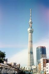 (Kerb ) Tags: trip japan tokyo december  nippon  analogue kerb 2011 konicac35ef 201112  fujicolourpro400h  tokyoskytree  konicac35film032 4767 47670024 kerbwang tokyo2011day3