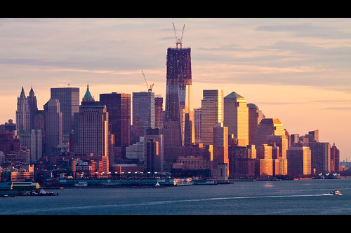 One World Trade Center Progress December 2011 Shot #2