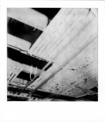 Destruction N 1 (artwpn) Tags: philadelphia polaroid sx70 blackwhite plumbing indoor instant landcamera instantphotography basements oldshit px100 impossibleproject theimpossibleproject