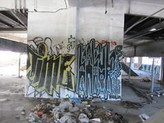 TIME /  RAKUN (Same $hit Different Day) Tags: graffiti bay san francisco time area rakun