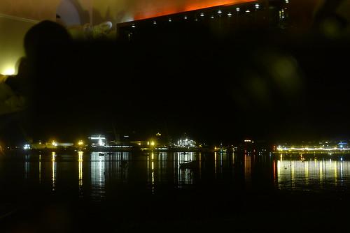 Baron Greenbank (maf*pHew) Tags: sea elephant reflection docks boats lights pier cornwall falmouth greenbank mafphew
