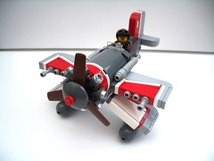 Axiom Wavestormer of the Floridian Fleet Air Arm (2 Much Caffeine) Tags: lego seaplane biplane steampunk moc crimsonskies flyingmachine dieselpunk