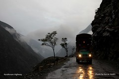 A Truck on Karakoram Highway (Karrar Haidri) Tags: pakistan highway k2 karakoram kkh concordians