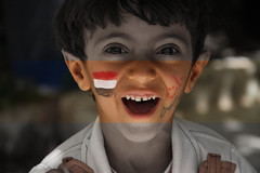 Yemeni kid 1 (gamalmorisi) Tags: school portrait smile face photography kid eyes child sad little young middleeast peaceful arab revolution 7d yemen cry  yemeni             arabspring
