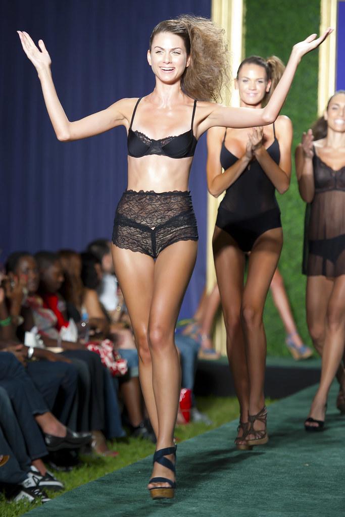 Amateur fashion glamour model photo