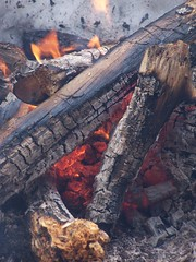 Warmth from Campfire by andyarthur, on Flickr
