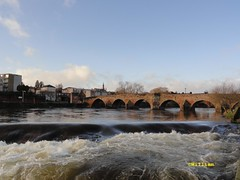 Devorgilla Bridge Dumfries. All rights reserved. (stonetemplepilot5) Tags: uk water river scotland sandstone whitesands ngc dumfries nith caul digitalcameraclub devorgillabridge dsch55