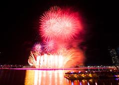New Year 2012 Fireworks #5 (hak87) Tags: new eve bridge marina river bay singapore fireworks taxi year esplanade sands countdown 2012