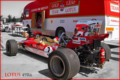 Lotus 49R6 B/C F1 Jochen Rindt Gold Leaf Team ► All kinds of commercial usage are illegal! ► Copyright 2012 B. Egger :: eu-moto images classic sports cars 05L485swcs2