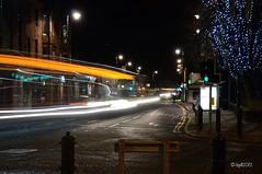 Prestwick Downtown - Bus Spotting!! (BGDL ~ Falling Behind But Will Catch Up!!) Tags: longexposure night prestwick nikond7000