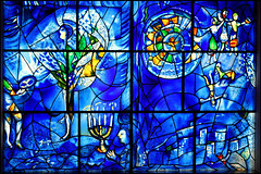chagall's america windows (1977) (cb804) Tags: chicago art glass stained institute marc chagall 1977