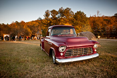 A Brand New Day (Pt. 2) (Jim | jld3 photography) Tags: new old autumn wedding fall chevrolet up truck evening nikon shiny day dusk alabama pickup chevy cooper 24mm pick 3200 brand optimism 2012 optimistic 14g d700 gasden