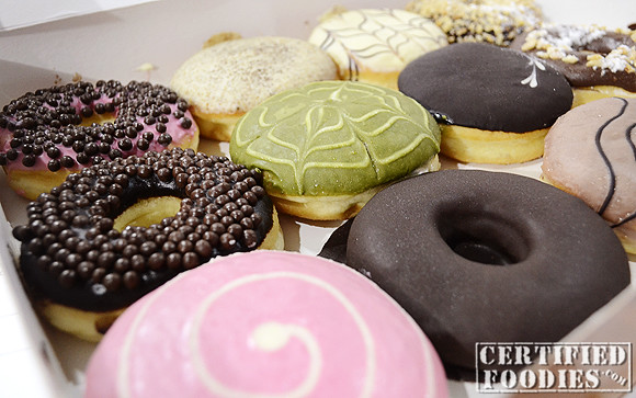 We got two boxes of assorted J.CO Donuts - love them!