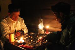 Lantern festival in Hoi An (Bertrand Linet) Tags: light nightshot chess vietnam hoian players vietnamesepeople bertrandlinet lanternfestivalhoian vietnamgame